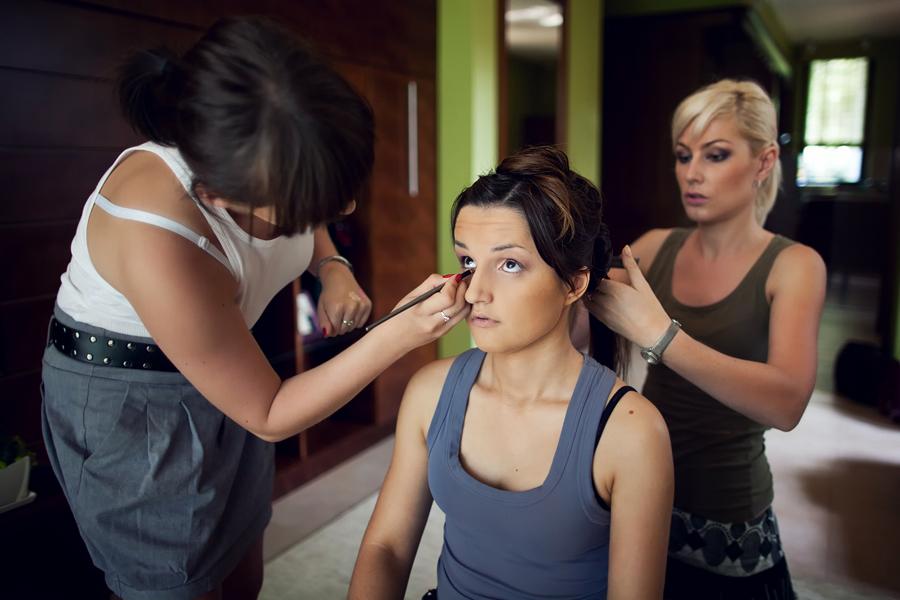 Przygotowania do ślubu - make up