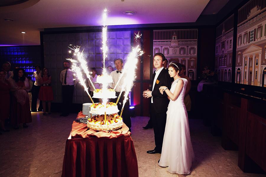 Tort weselny - Para Młoda